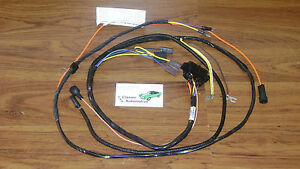 Engine Wiring Harness Made In Usa 67 Camaro W Factory Console Gauges