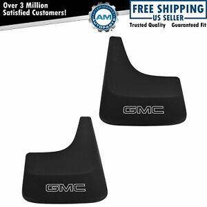 Oem 19213394 Splash Guard Mud Flap 12 Inch Wide Front Or Rear Pair For Gmc