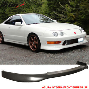 Fits 98 01 Acura Integra Type R Tr Style Front Bumper Lip Valance Chin Spoiler