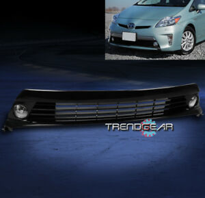 For 2012 2015 Toyota Prius Bumper Chrome Fog Light grille W harness switch Kit