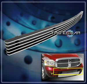2006 2007 2008 Dodge Ram 1500 2500 3500 Sport Front Lower Bumper Billet Grille