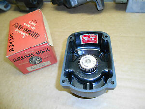 New Vintage Fairbanks morse Magneto Distributor Cap Cover A2430c
