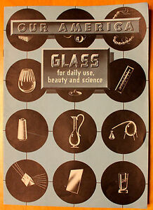 1944 Coca Cola Our America Glass Booklet Teaching Aid