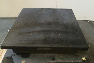 Granite Plate Surface Inspection 24 X 24