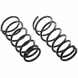 Moog Coil Springs Set Of 2 Front New For Jeep Grand Cherokee 80974