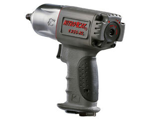 Aircat 1355 Xl 3 8 Nitrocat Extreme Torque Air Impact Wrench With Twin Hammers