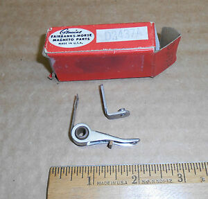 New Vintage Fairbanks morse Magneto Distributor Contact Points D2437a