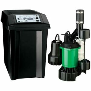 Myers Mbsp 2c 1 3 Hp Combination Primary Backup Sump Pump System