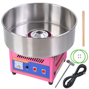Commercial 20 Electric Countertop Cotton Candy Machine Diy Floss Maker Party
