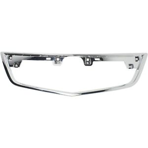 New Grille Trim Grill Chrome Acura Tl 2012 2014 Ac1202104 75105tk4a11