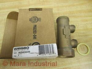 Wirsbo A2503220 Manifold 1 1 4 2 Loop Valveless pack Of 3