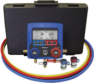 Mastercool Digital R134a A C Manifold Gauge Set With Hoses 99872 A