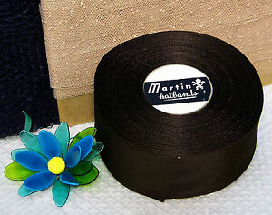 Bty Vintage 2 Silky Rayon Grosgrain Ribbon Finished Edge Hat Band Millinery
