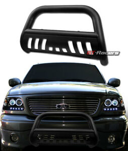 For 2007 2020 Toyota Tundra Matte Black Bull Bar Push Bumper Grill Grille Guard