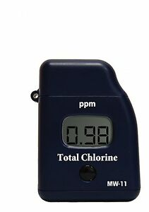 Milwaukee Mw11 Total Chlorine Mini Colorimeter Photometer