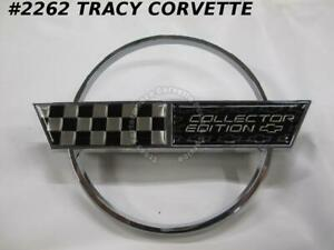 1996 Corvette Gas Door Emblem Collector Edition Replacement For 10254345