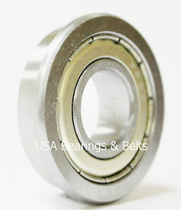 50 fr8 zz Premium Abec 3 Flanged Bearings1 2 X 1 1 8 fr8 Z Synthetic Grease