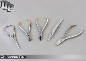 Orthodontic Lingual Arch Plier Wire Cutter Distal End Mathieu Bracket Remover