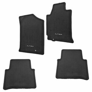 Oem 999e2 Ut010bk Charcoal Black Carpet Floor Mat Set Of 4 For Altima Sedan New