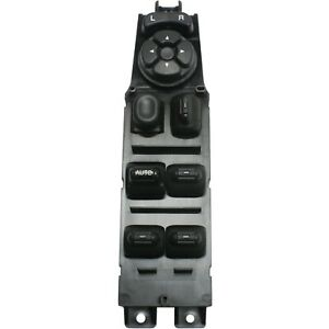 Window Switch For 98 2001 Jeep Cherokee 4 Door 8 Button Front Left Side