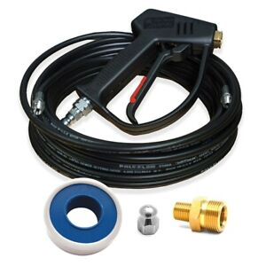 Mtm Hydro Jetter Genie Pressure Washer Sewer Jetter Conversion Kit W 50 foot