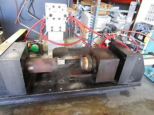 Welding Lathe With Controller Good Working Old Stock
