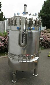 Bioengineering 560 Liter Jacketed Stainless Steel 316l Tank Bioreactor Mixer