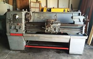 Clausing Colchester Engine Lathe 15 X 50 Geared Head
