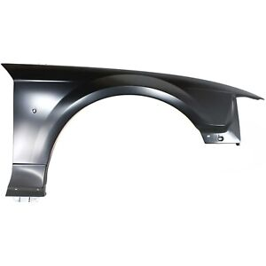 Fender For 1999 2004 Ford Mustang Front Right Primed Steel With Emblem Provision