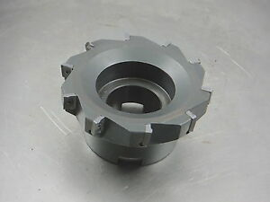Ingersoll 4 Indexable Face Mill 1 5 Arbor 2j1004r04 65512 E loc1568a