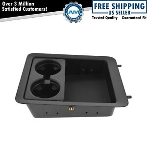Oem 22860866 Center Console Cup Holder Insert Tray Black For Chevy Gmc New
