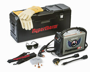 Hypertherm Powermax 30 Xp Plasma Cutter 088079 With Case Gloves