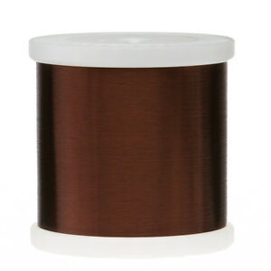 42 Awg Gauge Plain Enamel Copper Magnet Wire 5 0 Lbs 0 0027 105c Brown Mw 1 c