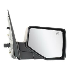 Power Mirror For 2006 2010 Ford Explorer Passenger Side Heated Textured Black