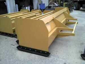New 12 Backhoe Snow Box Pusher Plow Blade Case cat Jd