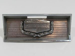 1969 70 Mercury Cougar Gas Door Emblem Badge Script Trim Metal Decal Sign Cool