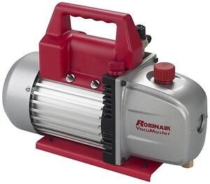 Robinair 15500 115 v Vacumaster 5 Cfm Vacuum Pump Easy To Carry