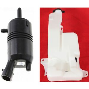 Washer Pump Kit For 99 2006 Chevrolet Silverado 1500 2001 2006 Gmc Yukon 2pc