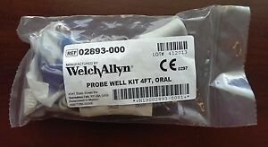 Welch Allyn Suretemp Plus Temperature Probe Well Assembly 4ft 02893 000 New