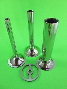 Sausage Stuffer Kit For Chefs Choice Meat Grinder For Kitchenaid Mixers 4 Pc