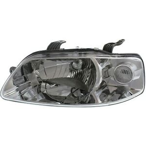 Headlight For 2004 2007 Chevrolet Aveo 2006 2008 Aveo5 Driver Side W Bulb