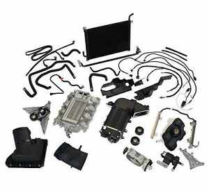 Ford Racing 2011 2014 Mustang Gt Supercharger Tuner Kit Black M 6066 mgt23td