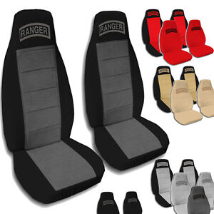 1998 2003 60 40 Ford Ranger Seat Covers 9 Color Options Armrest With Cup Holder