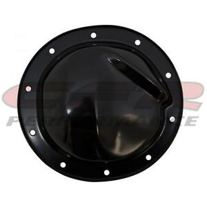 Steel 1964 95 Chevy Gm Rear Differential Cover 8 2 Rg 10 Bolt Black