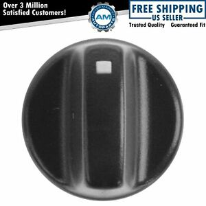 Oem F3tz 18513 A Heater Blow Switch Knob Molded Black Plastic For Ford New