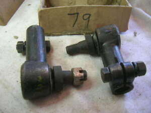 1940 Willys Car Station Wagon Jeepster Tie Rod Ends 79
