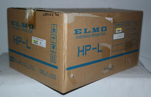 New Elmo Hp l 3550s Dx Deluxe Overhead Projector Hp l3550s Over Head Class