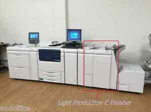 Booklet Maker Finisher With 2 3 Hole Punch For Xerox C75 J75 700 700i V80 Tkx