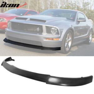 Fits 05 09 Ford Mustang V8 Type Cv2 Front Bumper Lip Pu