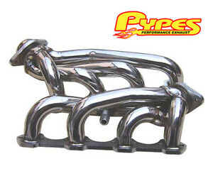 1994 1995 Mustang Gt 5 0 Pypes Polished Stainless Steel Short Shorty Headers